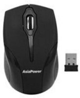 View Asia Power Powerclick 192 Grey Black (In Blister Packing) Wireless Optical Mouse(USB, Grey Black) Laptop Accessories Price Online(Asia Power)