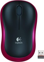 View Logitech M185 Wireless(USB, Red) Laptop Accessories Price Online(Logitech)