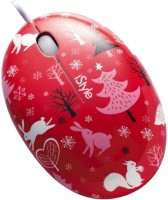 View iStyle iEgg USB Wired Mouse Wired Optical Mouse(USB, Red) Laptop Accessories Price Online(iStyle)