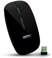 ZEBRONICS Wireless Totem 3 Wireless Optical Mouse(USB, Black)
