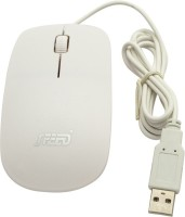 View Speed Slim Ultrathin Wired Optical Mouse(USB, White) Laptop Accessories Price Online(Speed)