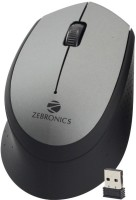 ZEBRONICS Swing Grey Wireless Optical Mouse(USB, Grey)
