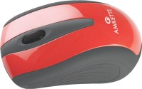 Amkette Ergo Wireless Optical Mouse(USB, Red)