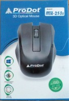 View ProDot mu-253s Wired Optical Mouse(PS/2, Black) Laptop Accessories Price Online(ProDot)