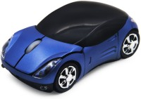 Smart Tech MCS Blue Car Shaped Wireless Optical  Gaming Mouse(USB, Blue)