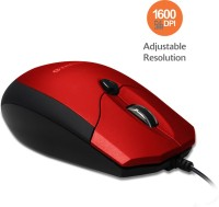 View Amkette Weego Pro USB Wired Optical Mouse(USB, Red, Black) Laptop Accessories Price Online(Amkette)