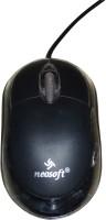 NEOSOFT Bravo Wired Optical Mouse(USB, Black)
