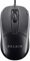 View Belkin 3 Button Wired USB Optical Mouse for Desktop, Laptop, and Netbook (Mac or PC) Wired(USB, Black) Laptop Accessories Price Online(Belkin)