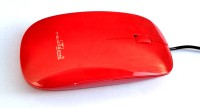 View TECHON TO-77 Wired Optical Mouse(USB, Red) Laptop Accessories Price Online(TECHON)