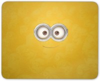 Digiclan Minion eye n smile Mouse pad Mousepad(Multicolor)