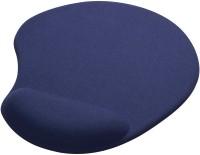 View Outre Wrist Comfort Mat Mousepad(Blue) Laptop Accessories Price Online(Outre)