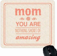 View Giftsmate Amazing Mom Mousepad(Multicolor) Laptop Accessories Price Online(Giftsmate)