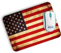 View Shoppersbucket Vintage America Mousepad(Milti Color) Laptop Accessories Price Online(Shoppersbucket)