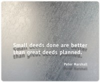 View Allthingscustomized Peter Marshall Quote Mousepad(Multicolor) Laptop Accessories Price Online(Allthingscustomized)