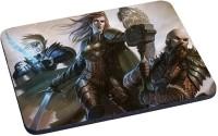 Magic Cases humans elves warriors hammerhead weapon attack Mousepad(Multicolor)