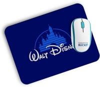 View Shoppers Bucket Walt Disney Mousepad(Multi Color) Laptop Accessories Price Online(Shoppers Bucket)