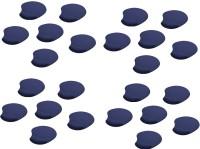 View Outre 20pc Wrist Comfort Mat Mousepad(Blue) Laptop Accessories Price Online(Outre)