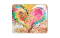 Digiclan Digiclan Multicolor heart Mouse pad-SZMP001 Mousepad(Multocolor)