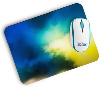 View Shoppers Bucket Cloudy Mousepad(Blue) Laptop Accessories Price Online(Shoppers Bucket)