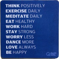 View QuoteSutra Ls1mp Mousepad(Blue) Laptop Accessories Price Online(QuoteSutra)