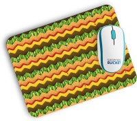 View Shoppersbucket Cheeseburger Chevron Mousepad(Multicolor) Laptop Accessories Price Online(Shoppersbucket)