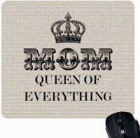 View Giftsmate Mom Queen of Everything Mousepad(Multicolor) Laptop Accessories Price Online(Giftsmate)