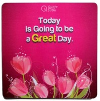 View QuoteSutra tigtbagd-MP Mousepad(Pink) Laptop Accessories Price Online(QuoteSutra)