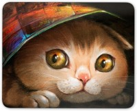 Digiclan Digiclan Multicolor Cat Mouse Pad-SZMP009 Mousepad(Multocolor)