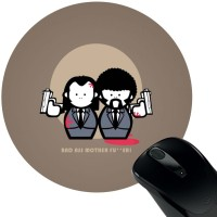 View Huppme Brother Mousepad(Multicolor) Laptop Accessories Price Online(Huppme)