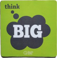 View QuoteSutra tb-MP Mousepad(Green, Grey) Laptop Accessories Price Online(QuoteSutra)