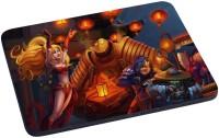 Magic Cases elves creatures lights china Mousepad(Multicolor)
