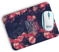 View Shoppers Bucket Enjoy Today Mousepad(MultiColor) Laptop Accessories Price Online(Shoppers Bucket)