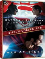 Batman V Superman: Dawn of Justice & Man of Steel(DVD English)
