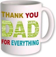PhotogiftsIndia Happy Fathers Day 145 Ceramic Mug(350 ml)