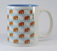 TATWAA THE ELEMENTS BLUE ELEPHANT Ceramic Mug(200 ml)