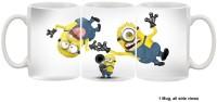 Furnish Fantasy Minions having fun Ceramic Mug(350 ml)