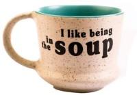 EK DO DHAI In The Soup Ceramic Mug(380 ml)
