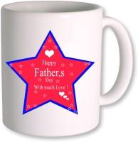 PhotogiftsIndia Happy Fathers Day 106 Ceramic Mug(350 ml)
