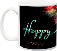 ME&YOU New Year Celebration Gifts for Friends,Relatives Ceramic Mug(350 ml)