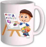 PhotogiftsIndia Happy Fathers Day 091 Ceramic Mug(350 ml)