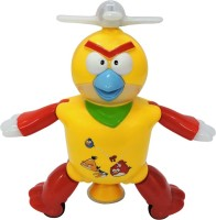 Today Toys Multi-function Dancing Robot Angry Bird(Yellow)