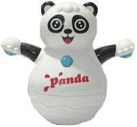 Little Grin Musical Roly Poly Panda with Projector Lighting Gift Toy for Toddlers Infants Kids(Multicolor)