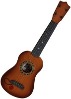 Wishkey 4 String Acoustic Guitar Excellent For Kids(Brown)