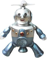 NEW PINCH Dancing Robot Musical Toy(Grey)