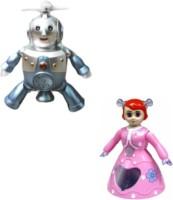 Tara Lifestyle Musical Dancing Robot And Dancing Doll(Multicolor)