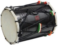 SG Musical Punjabi Bhangra Dhol(Black)