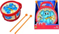 SIMBA My Music World Drum with 2 Drumsticks Elephant Version(Multicolor)