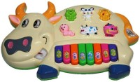 Tiny Mynee Cow musical piano(Multicolor)