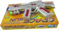 Shopaholic Space Gun Toy With Flashing Lights(Multicolor)