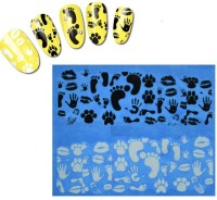 Azzuro Water Transfer Nail Art Decals Sticker(Lace Pattern) - Price 99 50 % Off